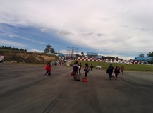 Touch down Silangit Airport